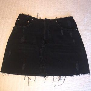 BDG black mini skirt